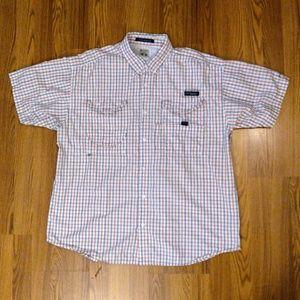 Columbia PFG Super Bonehead Fishing Shirt XL Vent